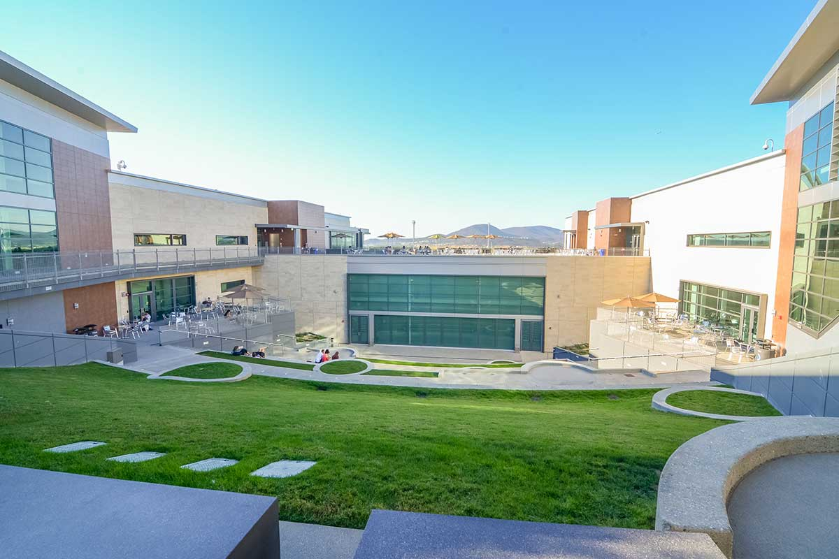 Living Spaces San Marcos : California State University San Marcos Student Union  landLAB