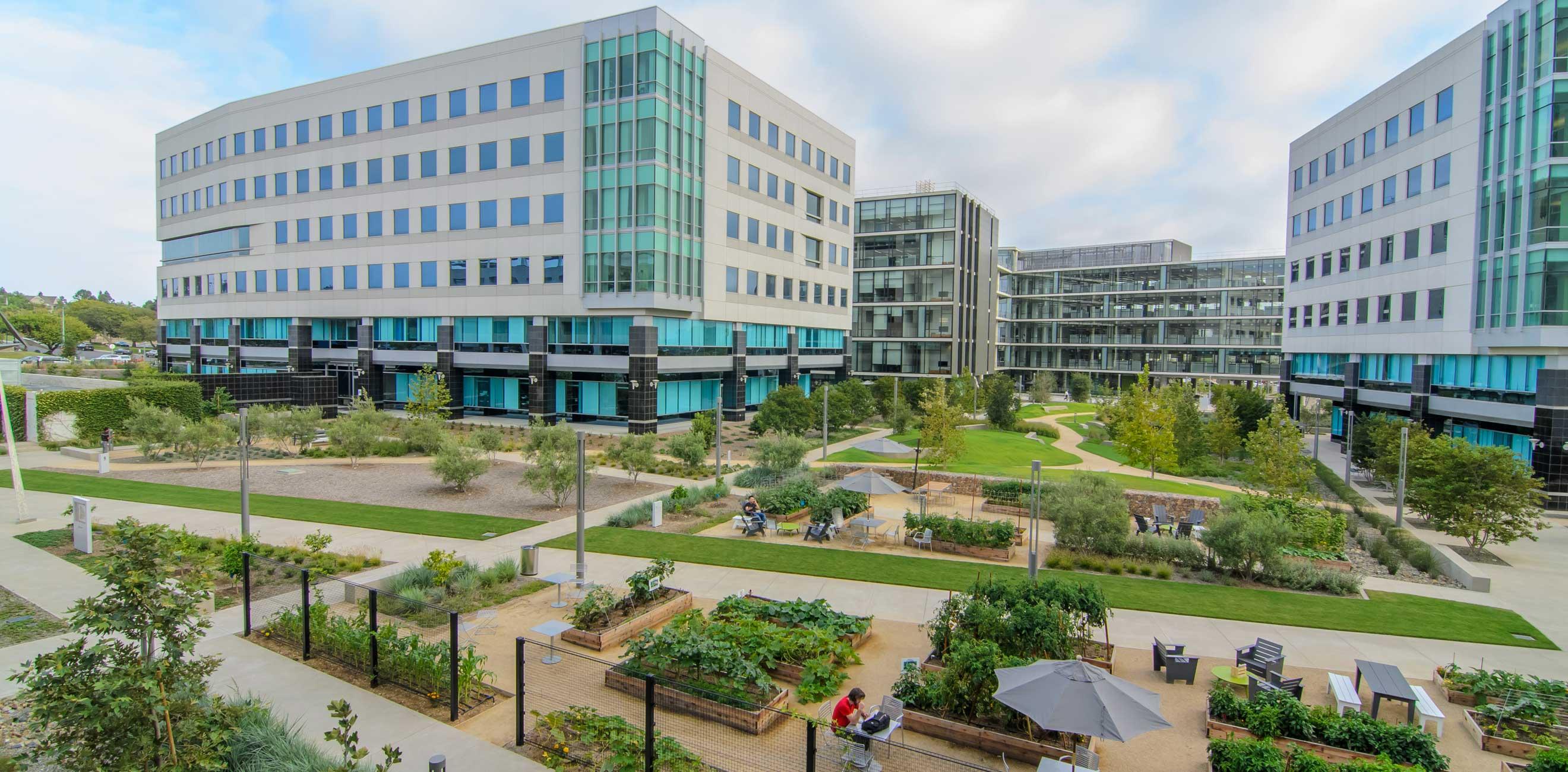 Qualcomm Pacific Center Corporate Campus Landlab