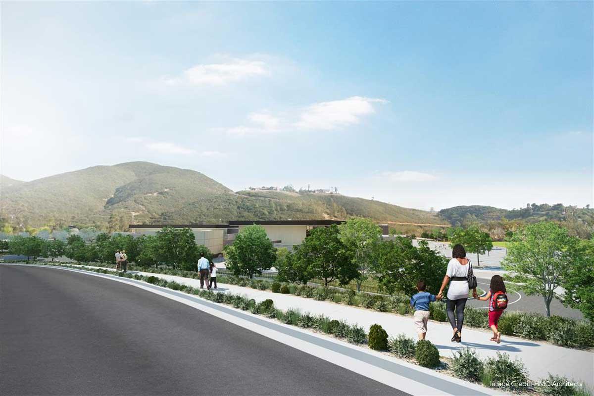 Double peak k8 school landlab for Puerta 8 san marcos