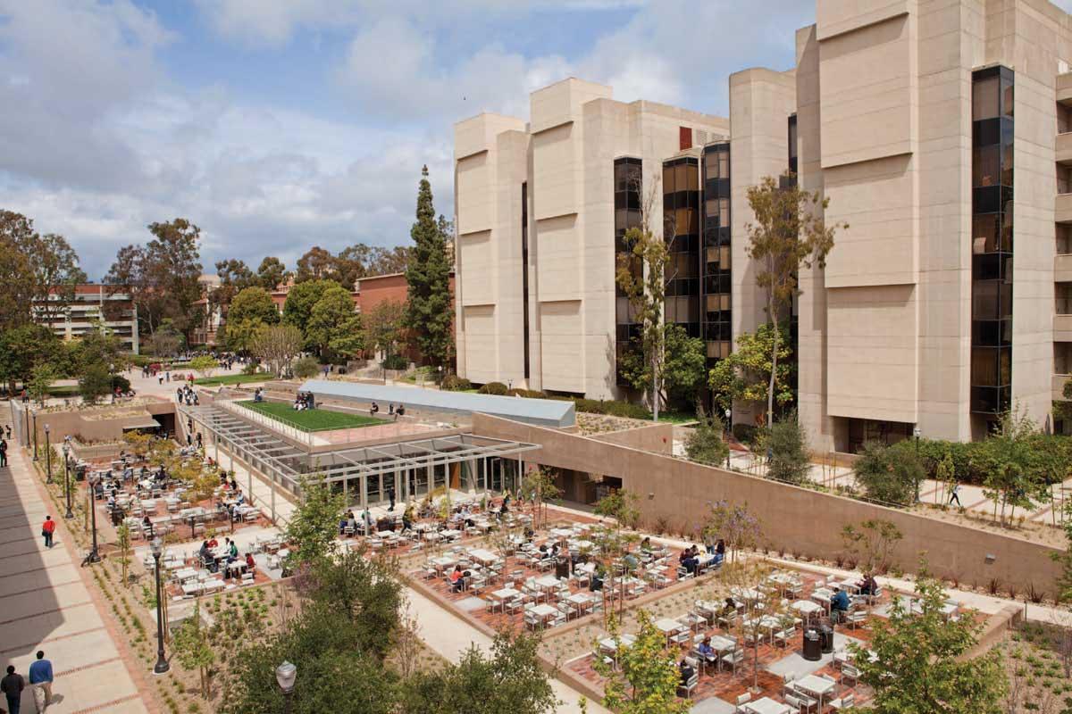 UCLA South Campus Student Center | landLAB